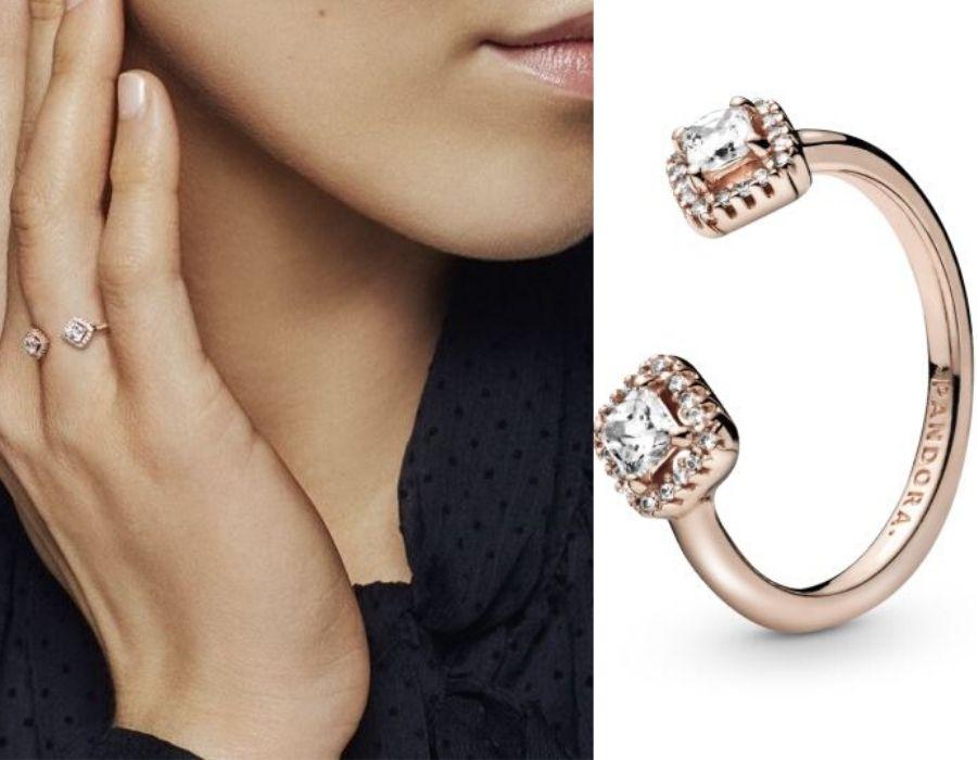 No dejes de brillar con los anillos de Pandora