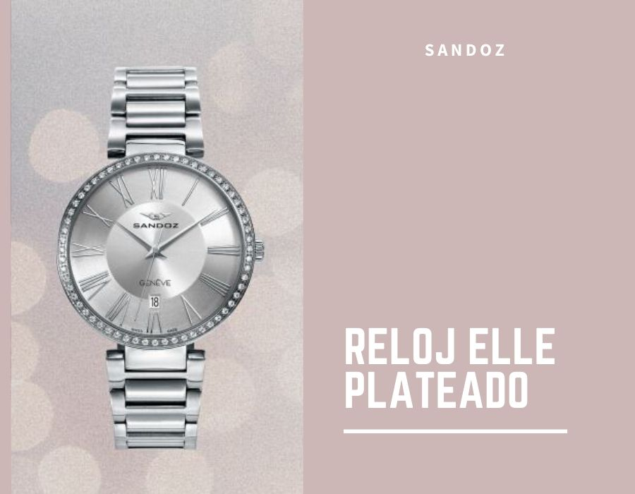 Reloj Elle plateado