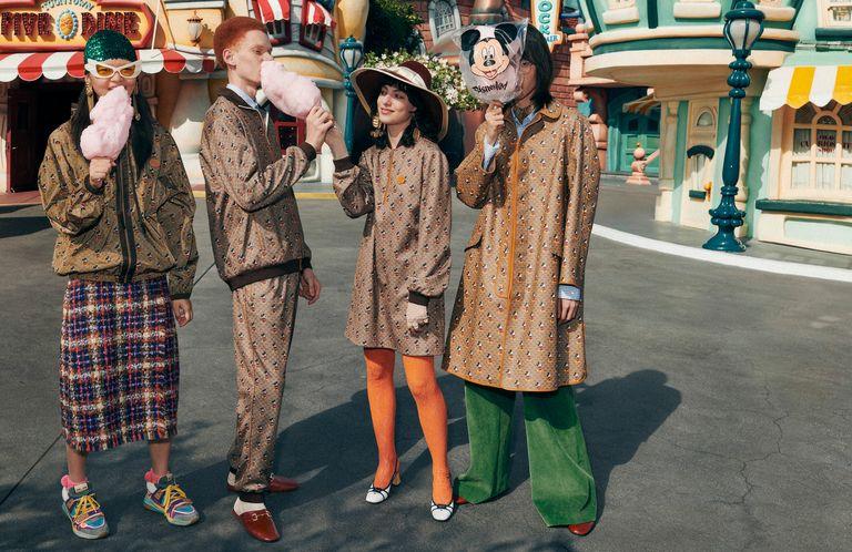 Sesión de fotos en Disneyland París