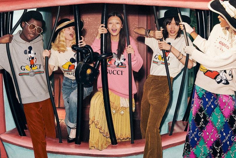 Prendas superiores Gucci x Disney
