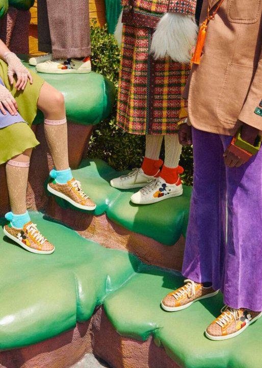 Zapatillas Gucci x Disney