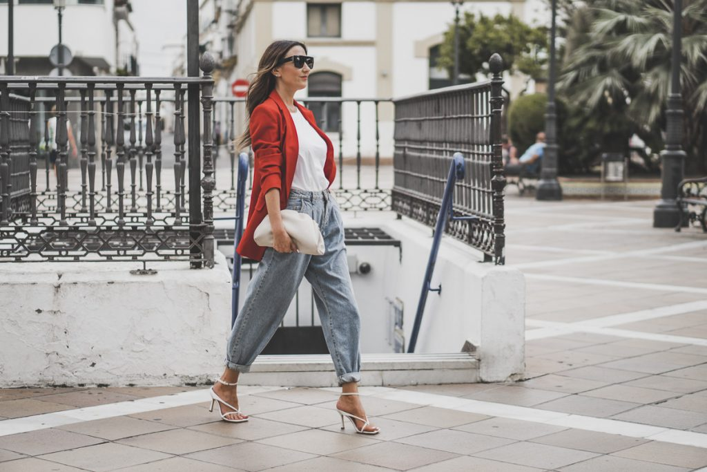 Street style slouchy