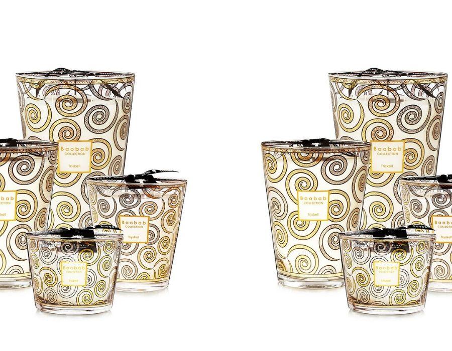 Colección Triskell en tonos dorados y plateados