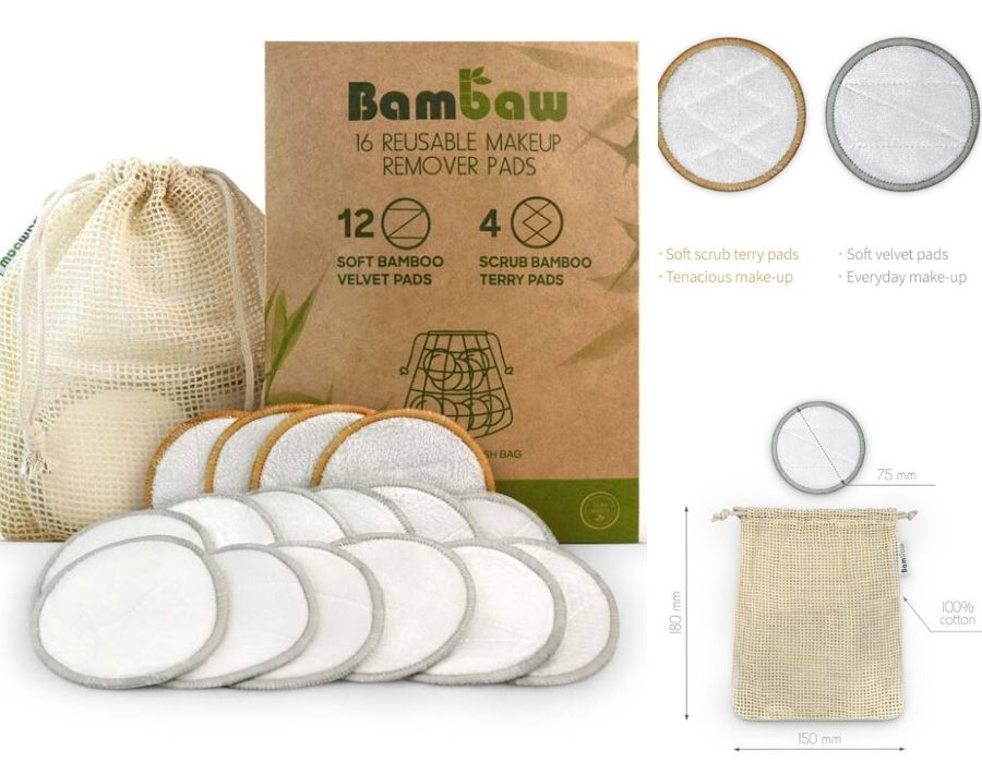 Discos reutilizables de Bambaw