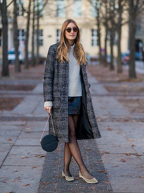 Street style con manoletinas