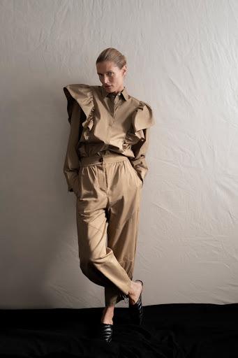 Pantalon slouchy Zara