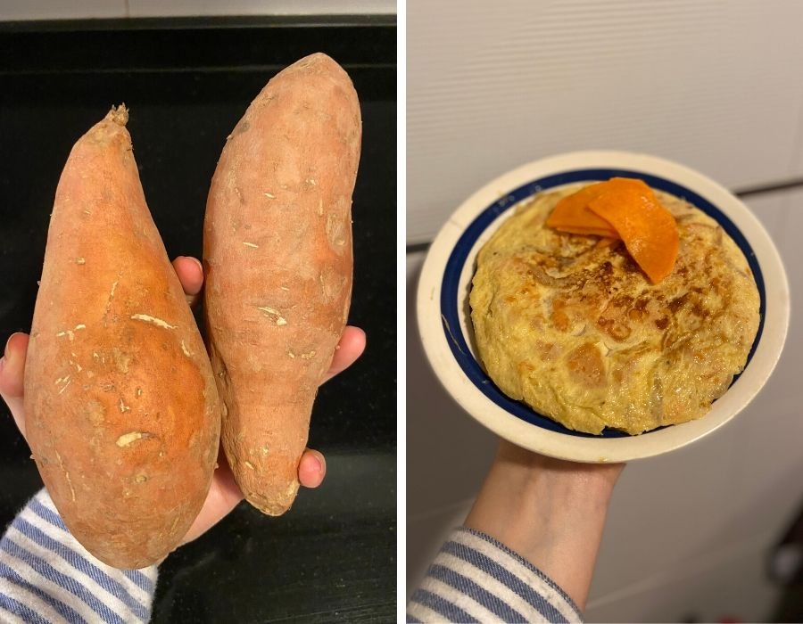 Tortilla de batata