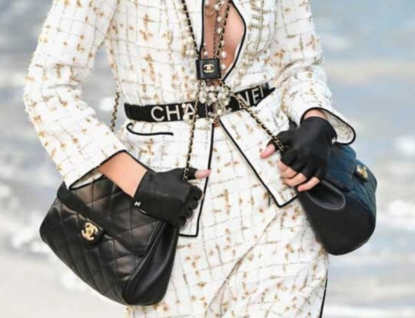 "Chanel ""double bag"""