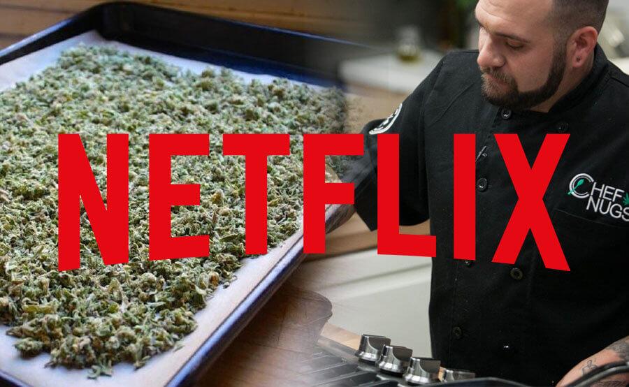 Una de las series de estreno: concurso de cocina con cannabis