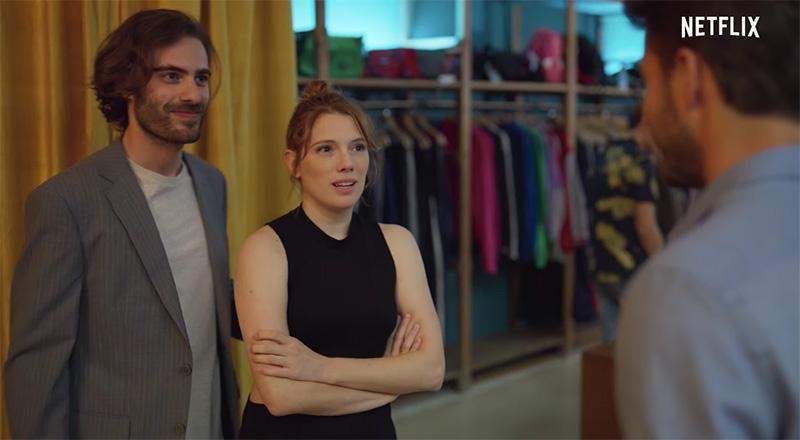 Adrián y Valeria, (Ibrahim Al Shami y Diana Gómez)
