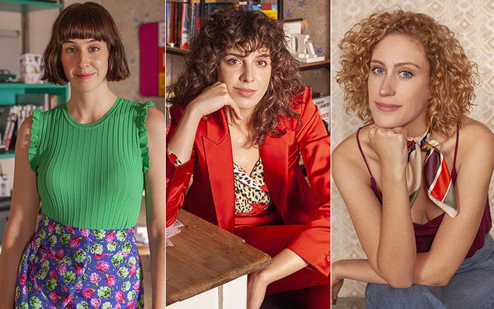 Paula Malia, como Carmen, Silma López, como Lola y Teresa Riott, como Nerea