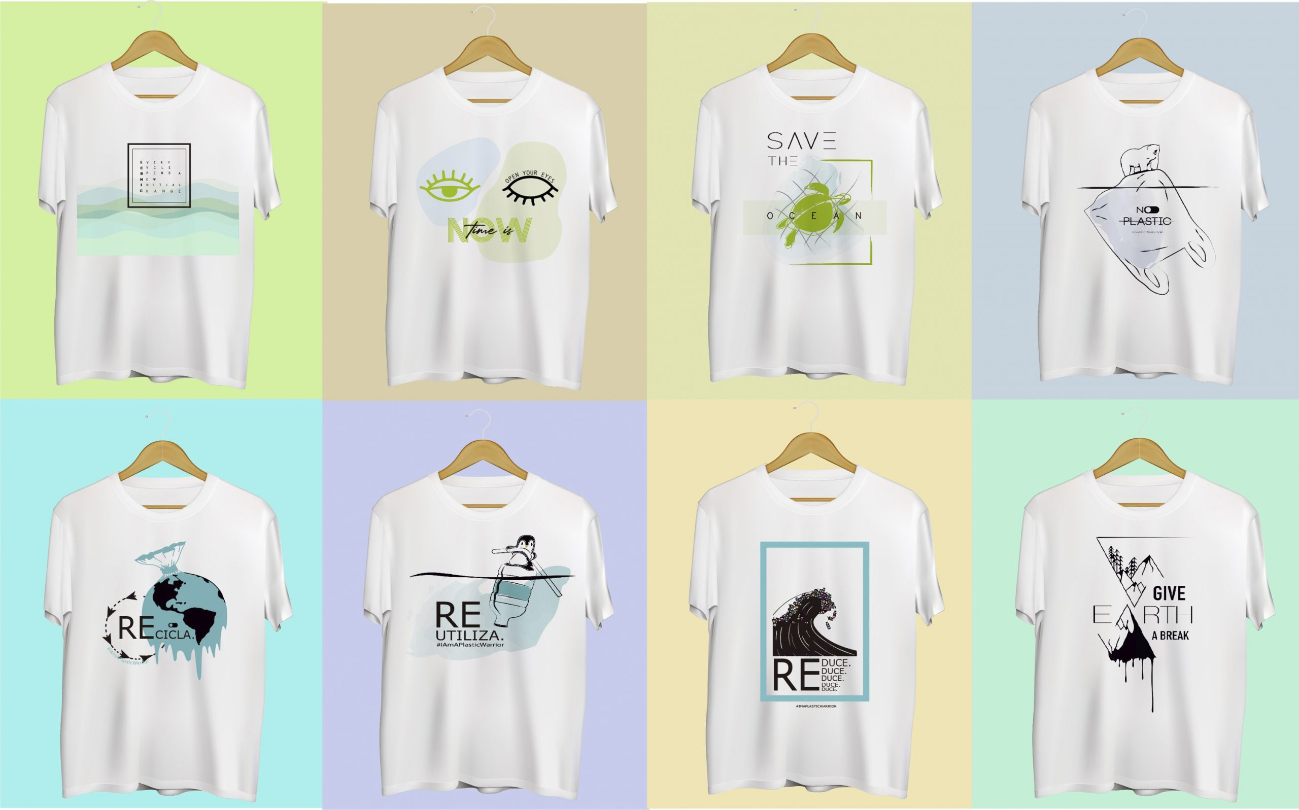 camisetas econic brand